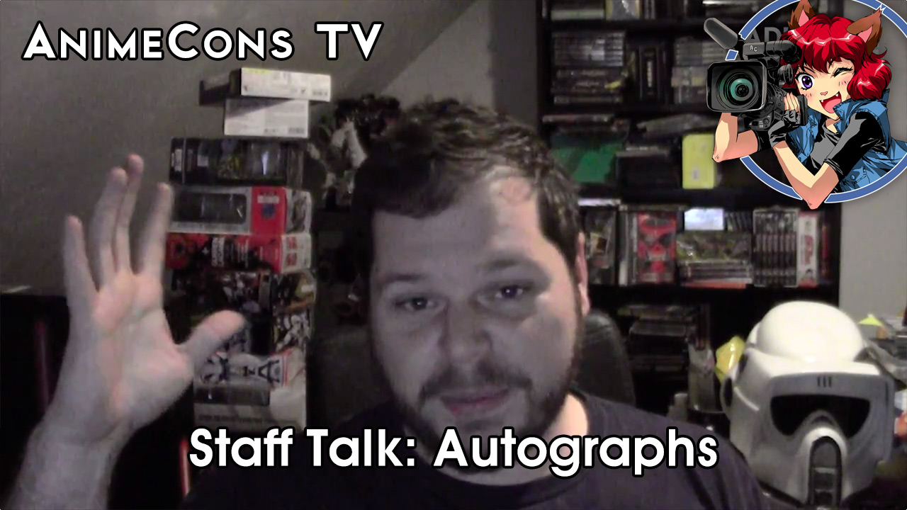 Staff Talk: Autographs